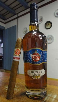 Rum and Cigar, the Cuban him