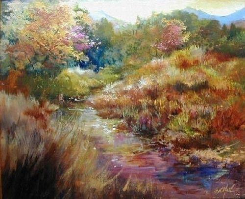"""Five Miles to Telluride"" by Scott Mattlin Oil ~ 20"" x 24"":"