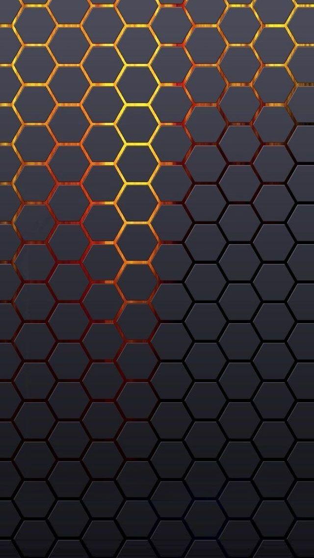 Hexagonal Grid Background #iPhone #5s #Wallpaper | Enjoy ...