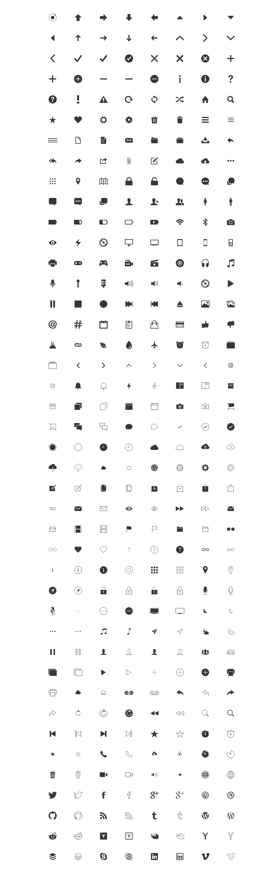 Free Icons for Web and User Interface Design 22