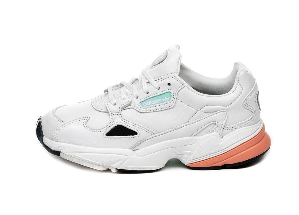 adidas Falcon Schuhe WeißOrange B37845