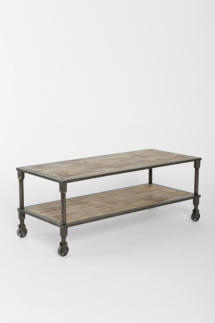 Urban :: 4040 Locust - Heritage Rolling Coffee Table Side Table :: http: - Urban :: 4040 Locust - Heritage Rolling Coffee Table Side Table