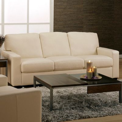 Palliser Furniture Westend Modular Sofa Upholstery: Bonded Leather    Champion Alabaster, Leather Type: