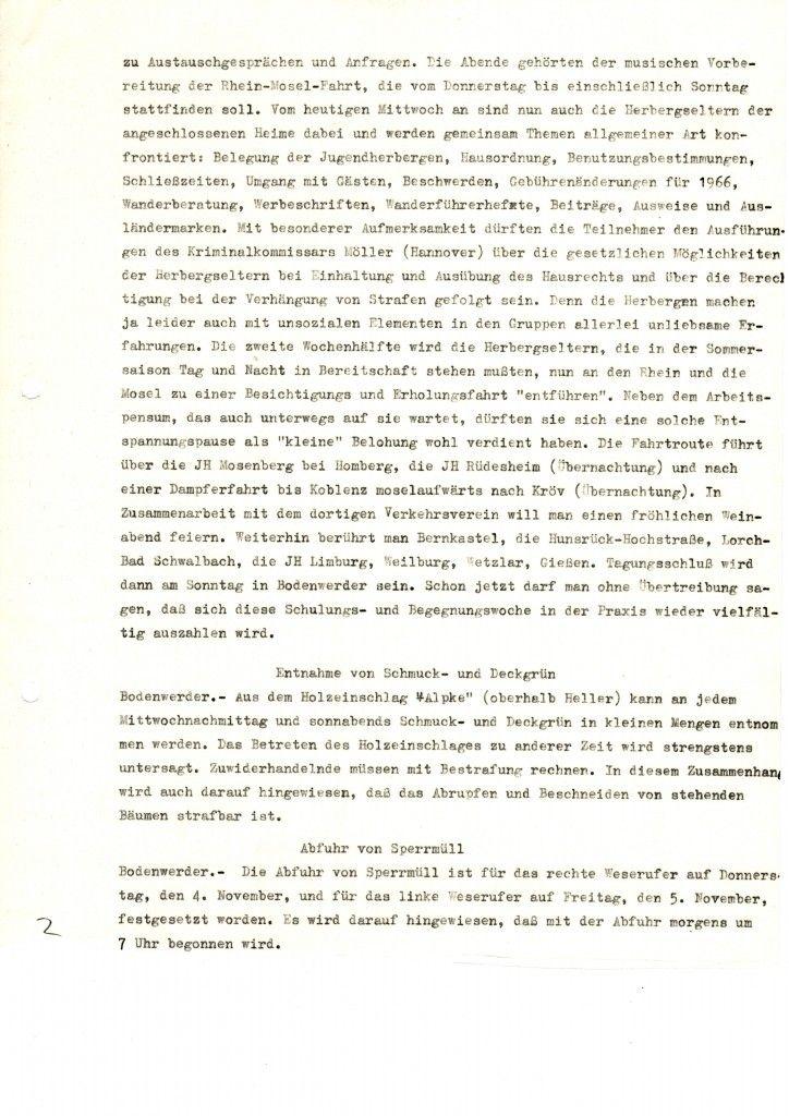 Herbergseltern in allen Sätteln gerecht vom 02.11.1965