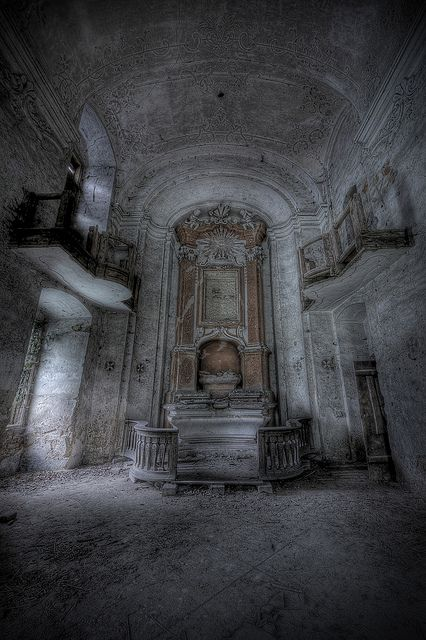 an inside shot of our abandoned castle | Forgotten Places ...