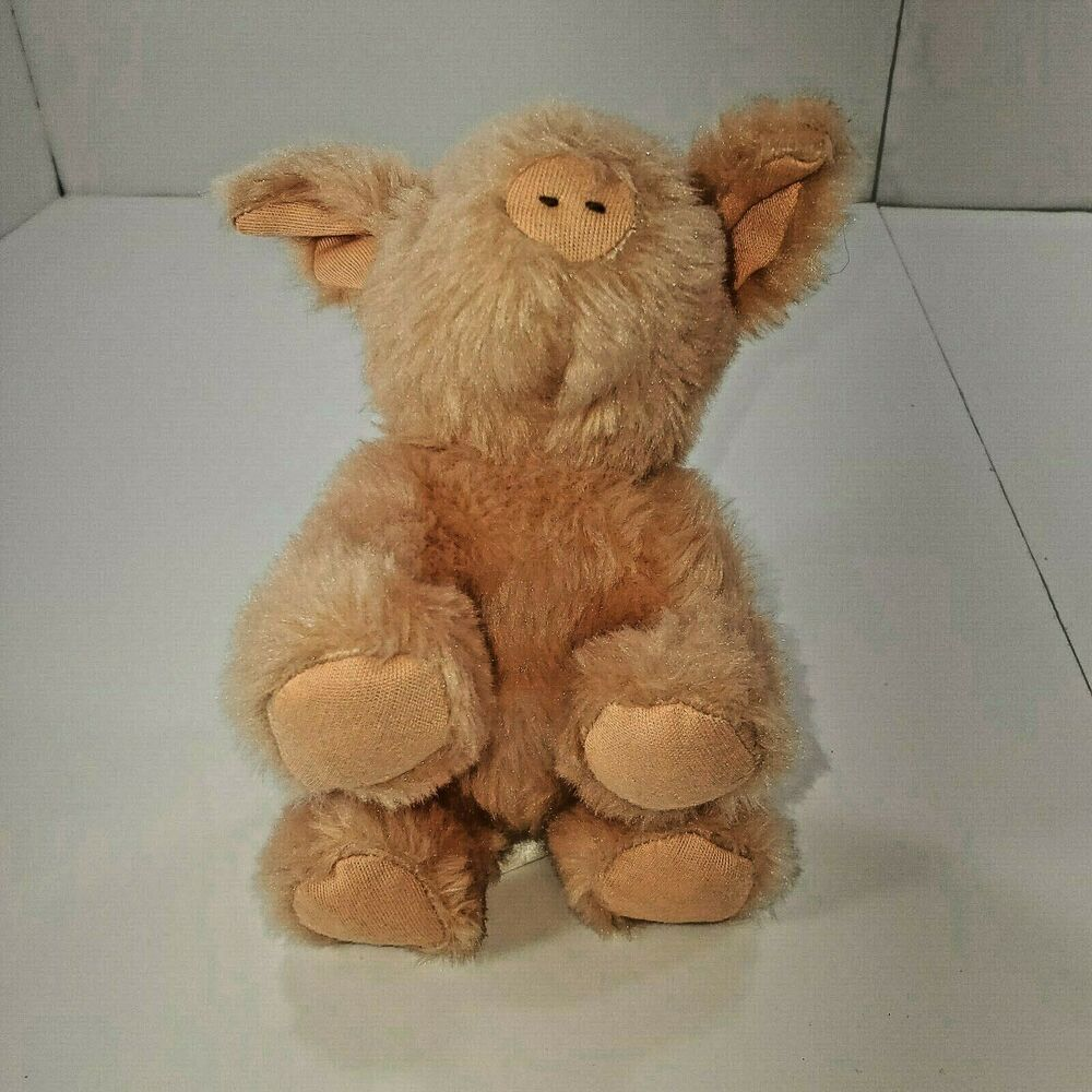 Bunnies By The Bay Pig Plush Piglet Stuffed Animal Baby