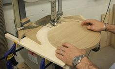 Learn how to cut perfect circles using a simple bandsaw jig.