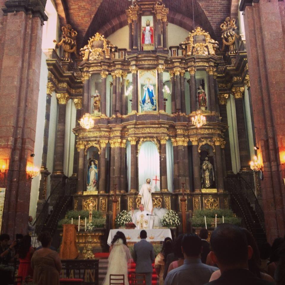 Wedding Church Altar: Wedding Altar At Las Monjas Mexican Church