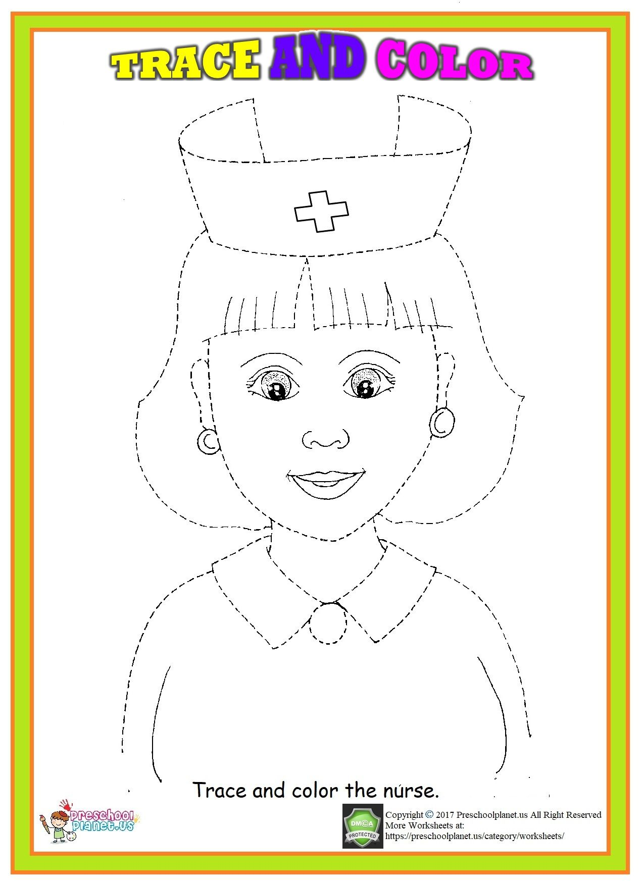 Nurse Trace Worksheet