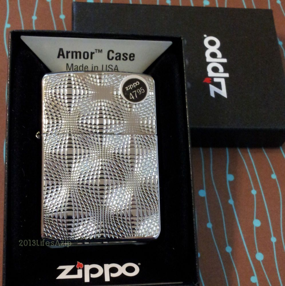 Zippo 28835 Armor Globes Deep Carved New Windproof Lighter