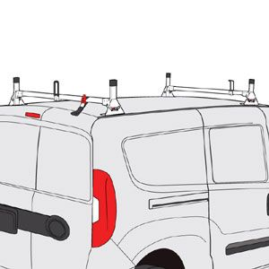 Vantech Ladder Rack Ladder Ladder Racks For Vans