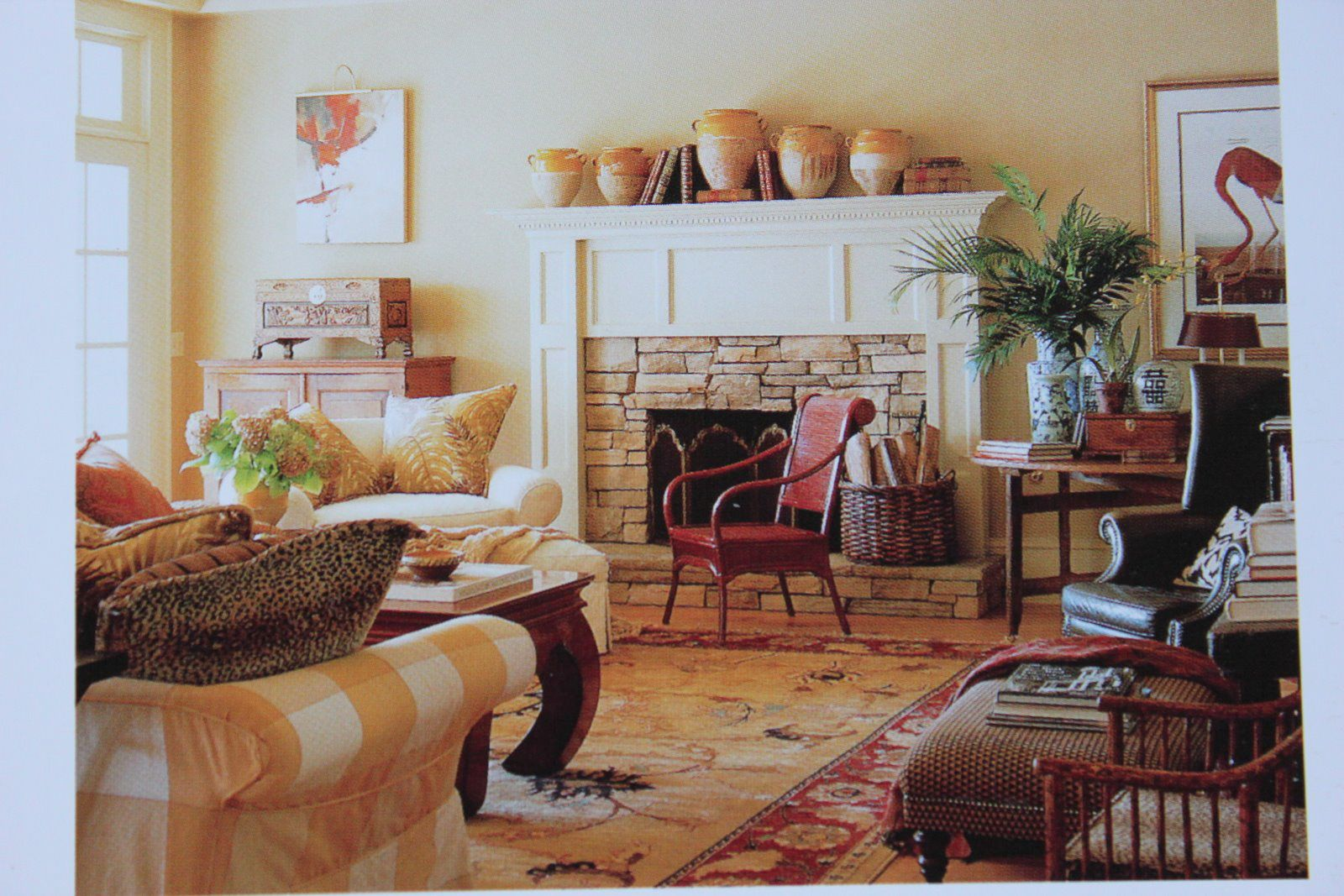 Love The Fireplace From French Country Cottage Blog Living Room - French country cottage blog