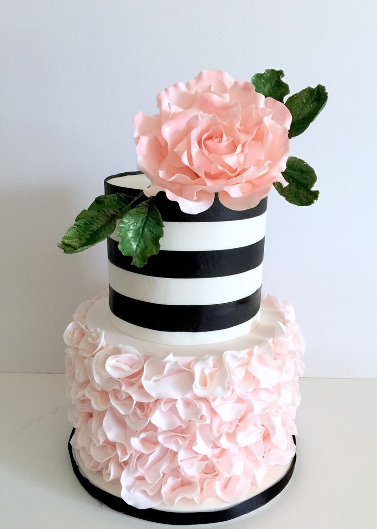 Kreative Möglichkeiten, Black White und Blush Hochzeit in Ihre Hochzeit Dekor zu integrieren #celebrationcakes