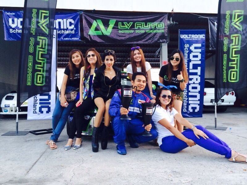 VOLTRONIC Thailand Track Day with LV AUTO IMPORT at Bira