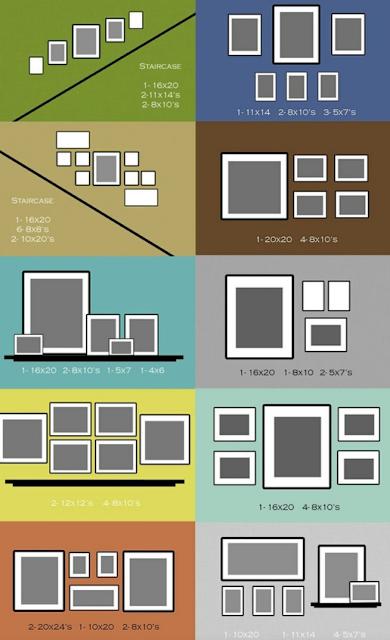Rh Interiorismo Diferentes Opciones Para Colocar Cuadros Diseno De Pared De Galeria Decoracion De Pared De Escalera Como Colocar Cuadros