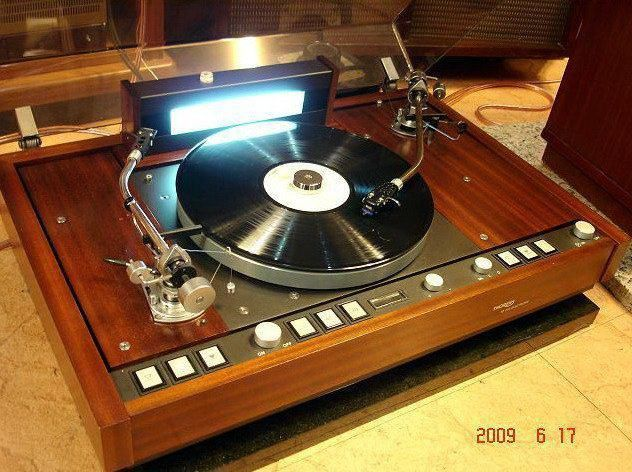 thorens td 226 turntable rare two tonearm variant of the td 126 series jukeboxes turntables. Black Bedroom Furniture Sets. Home Design Ideas