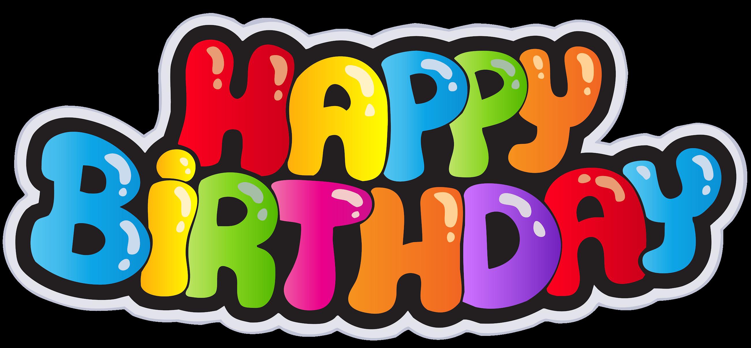 Happy Birthday To You Font Happy Birthday Transparent Png Image Clipart Ulang Tahun Gambar Kartu Ulang Tahun