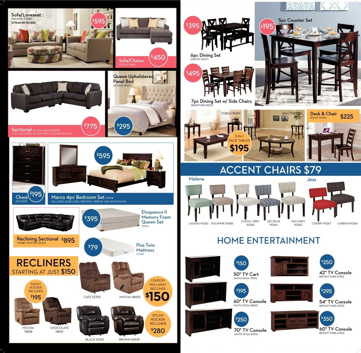 Superior Living Spaces Free Delivery In Living Spaces Home Entertainment Shopping  Ads From Paper Test