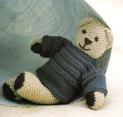 Teddy Bear Knitting Pattern Easy Pattern Babies By Elsahats Cute
