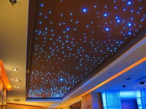 5w Wirless Remote Control Fiber Optic Star Ceiling For Starry Sky Lighting Star Ceiling Sky Ceiling Star Lights On Ceiling