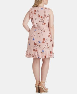 Trendy Plus Size Nimah Ruffle Tie Dress in 2019 | Products ...