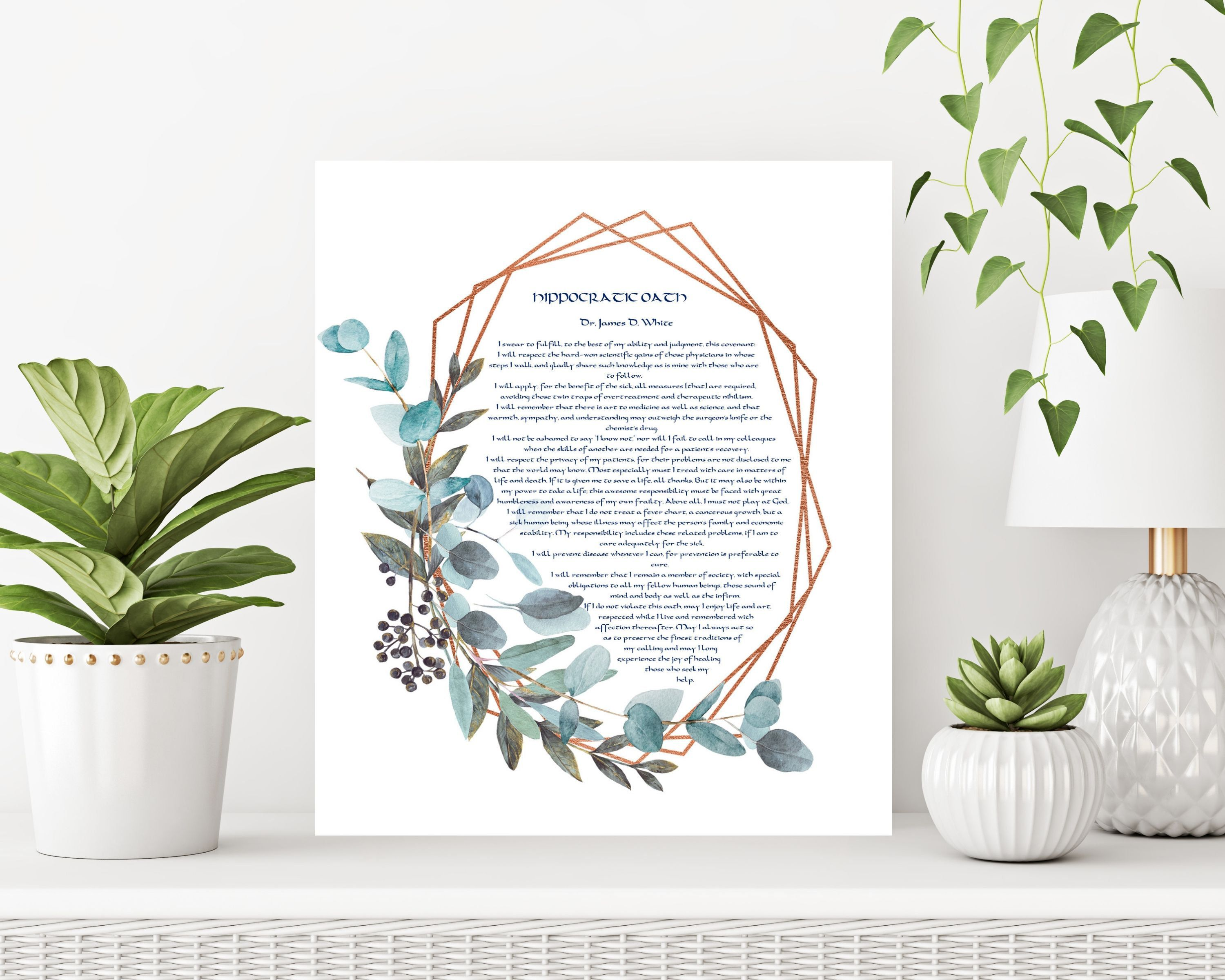 Hippocratic oath doctor gift doctor present physicians