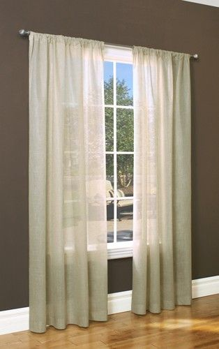 Curtain Bath Outlet Weathervane Thermasheer Curtain Panel