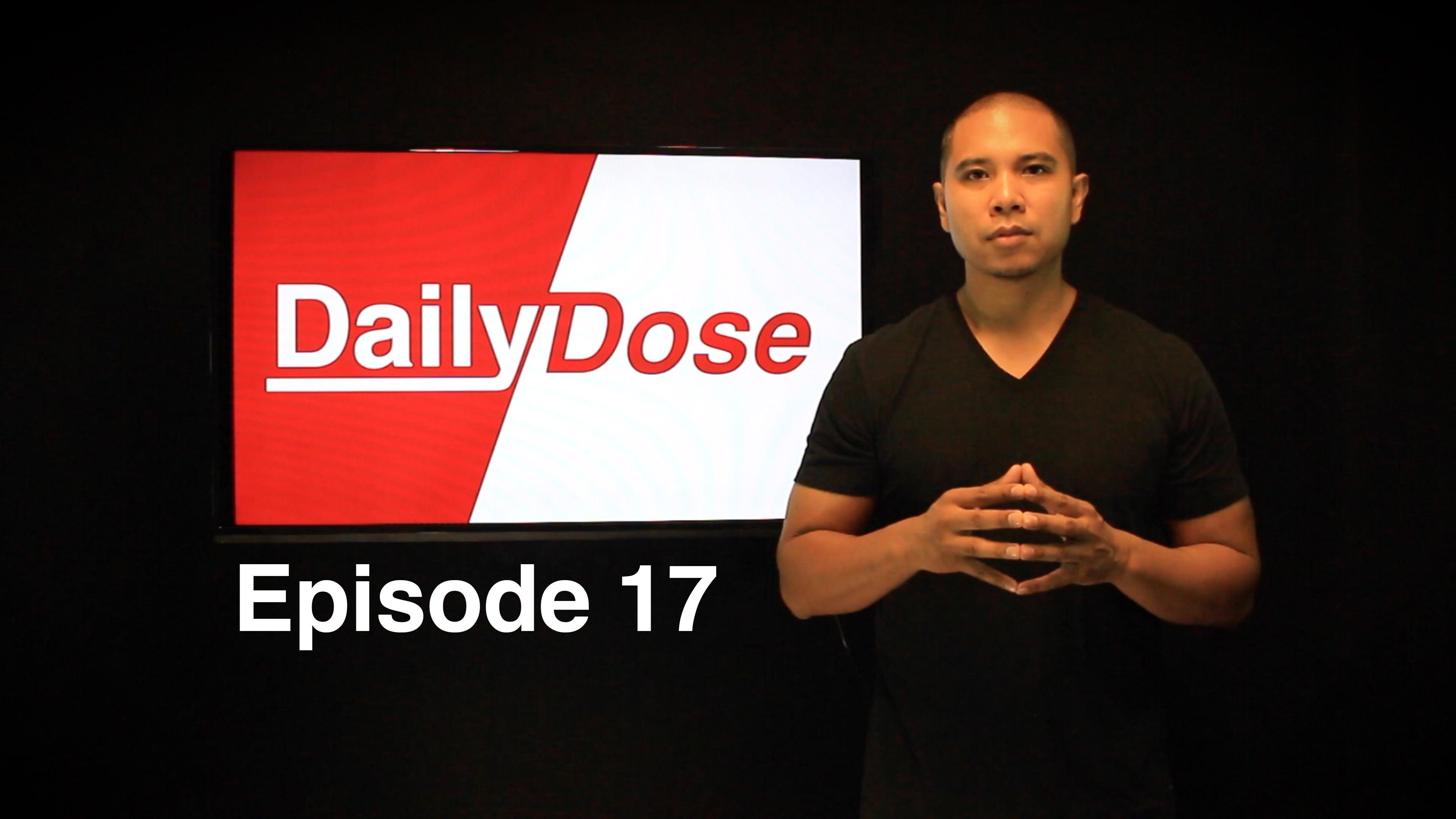 Daily Dose Ep 17 - A Fall of heavyweights, Floyd Mayweather asks Freddie Roach to train McGregor