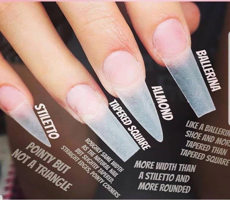 Unas Estoscoloressonincreibles Square Acrylic Nails Acrylic Nail Shapes Long Acrylic Nails
