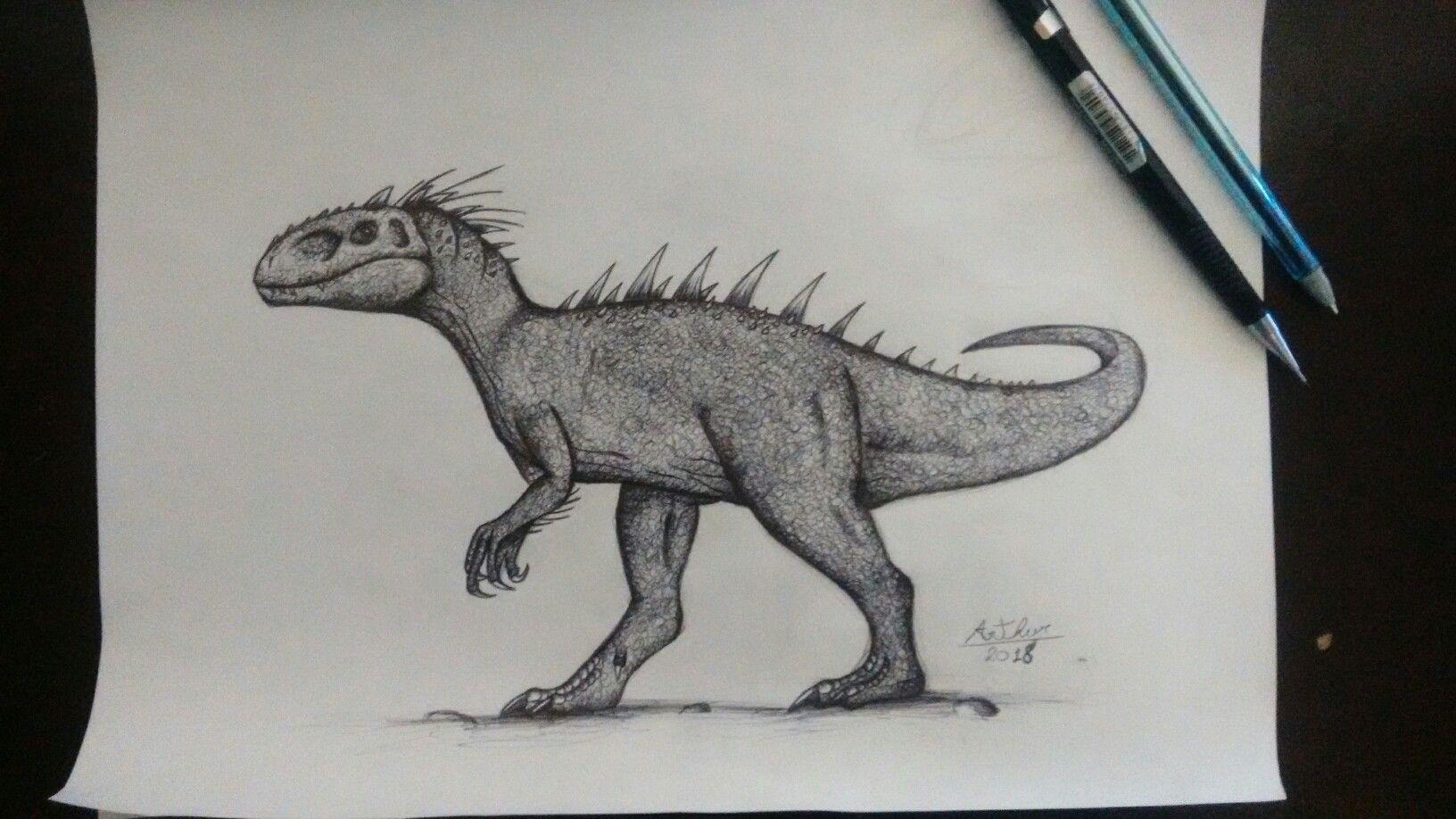 Indominus rex Animais préhistóricos, Animais extintos e