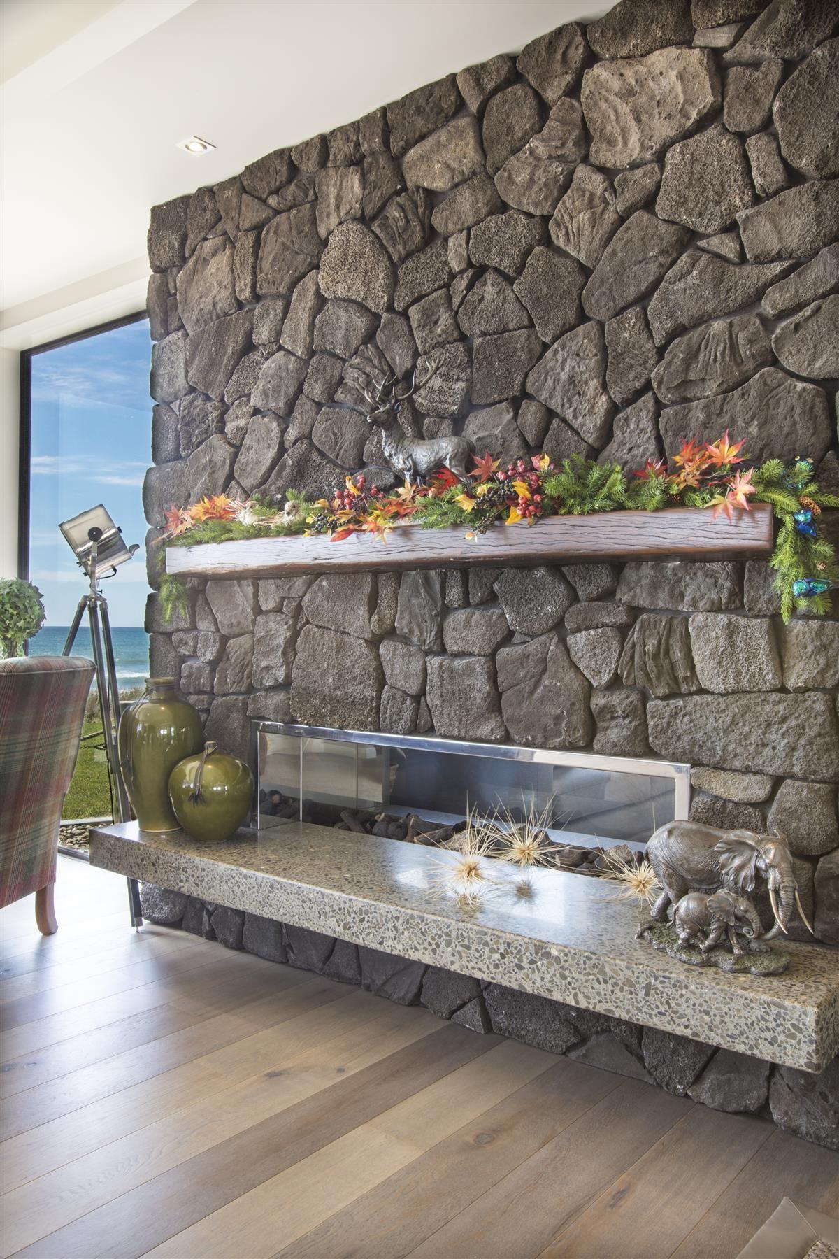 Image Result For Lava Rock Wall Interior Design Interior Wall