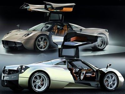 2017 Pagani Supercars Huayra The Lightest Sports Cars In Its Cl