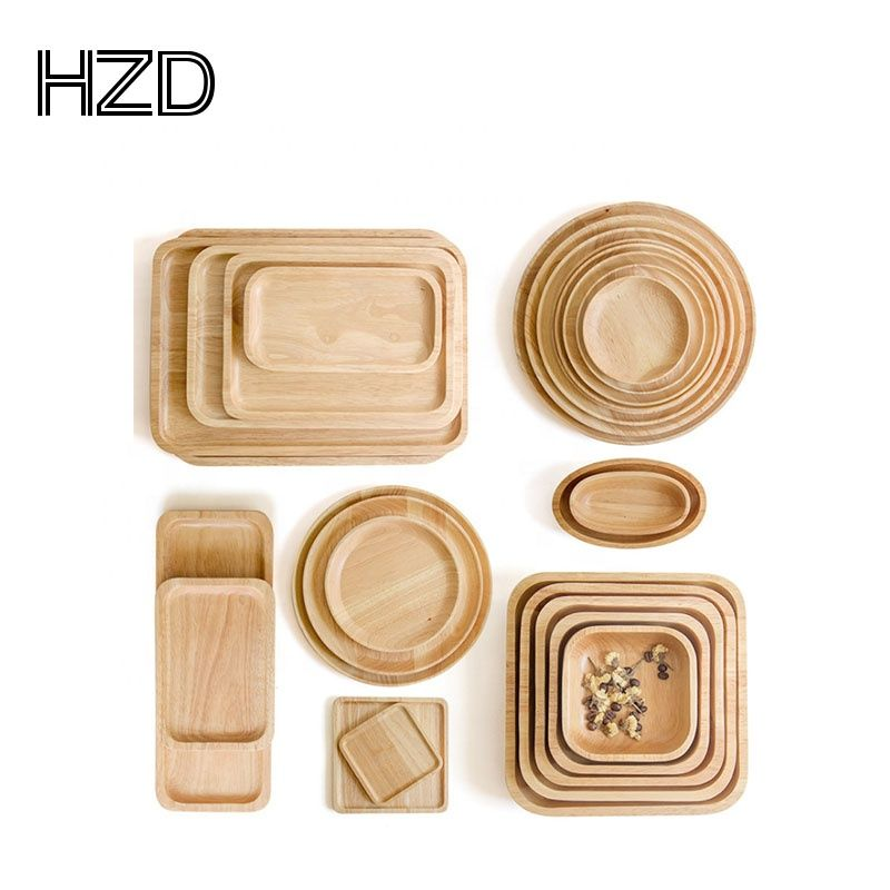 Wholesale Eco Friendly Natural Wooden Bamboo Dinner Fruit Food Tray Plates Serving Tray Set Find Complete Details About W Tea Plates Tableware Wood Tableware
