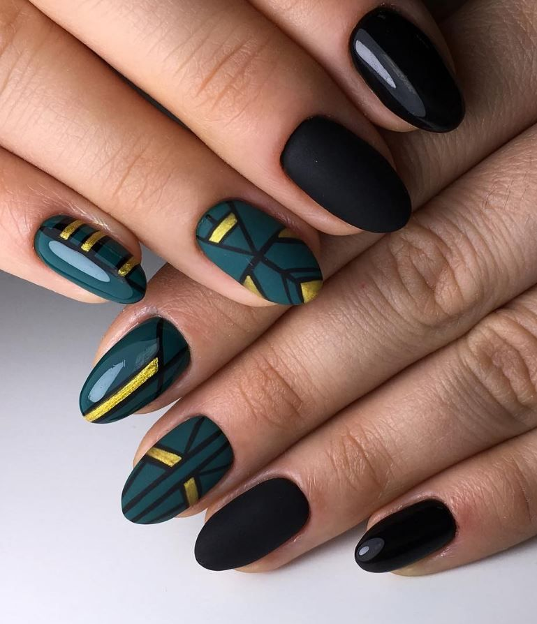 50 Fall Nails Art Designs That You Will Love | 50th, Manicure and Makeup