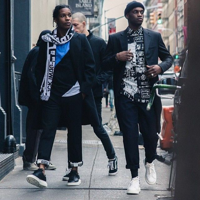 ASAP Rocky And ASAP Nast Walk The Town In Alexander