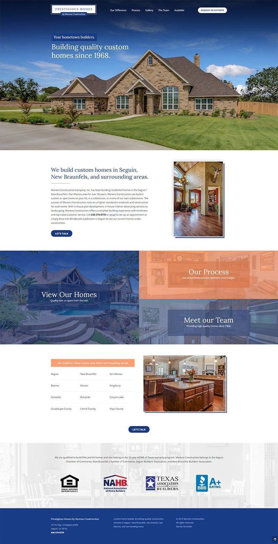 Home Building Website Design Including Builder Theme Website Etsy In 2020 Professional Website Design Wordpress Design Custom Homes