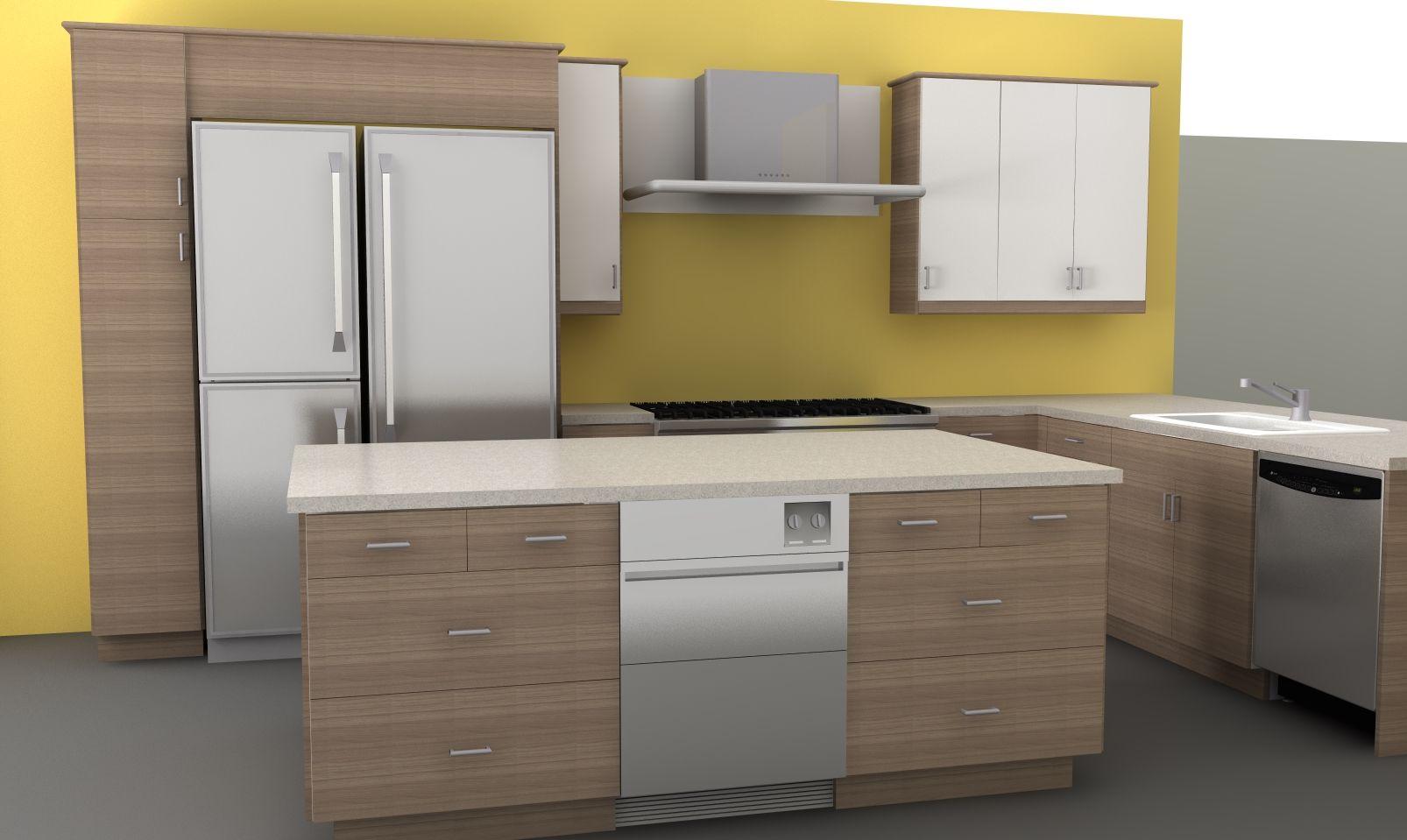ikea door fronts for integrated appliances kitchen pinterest