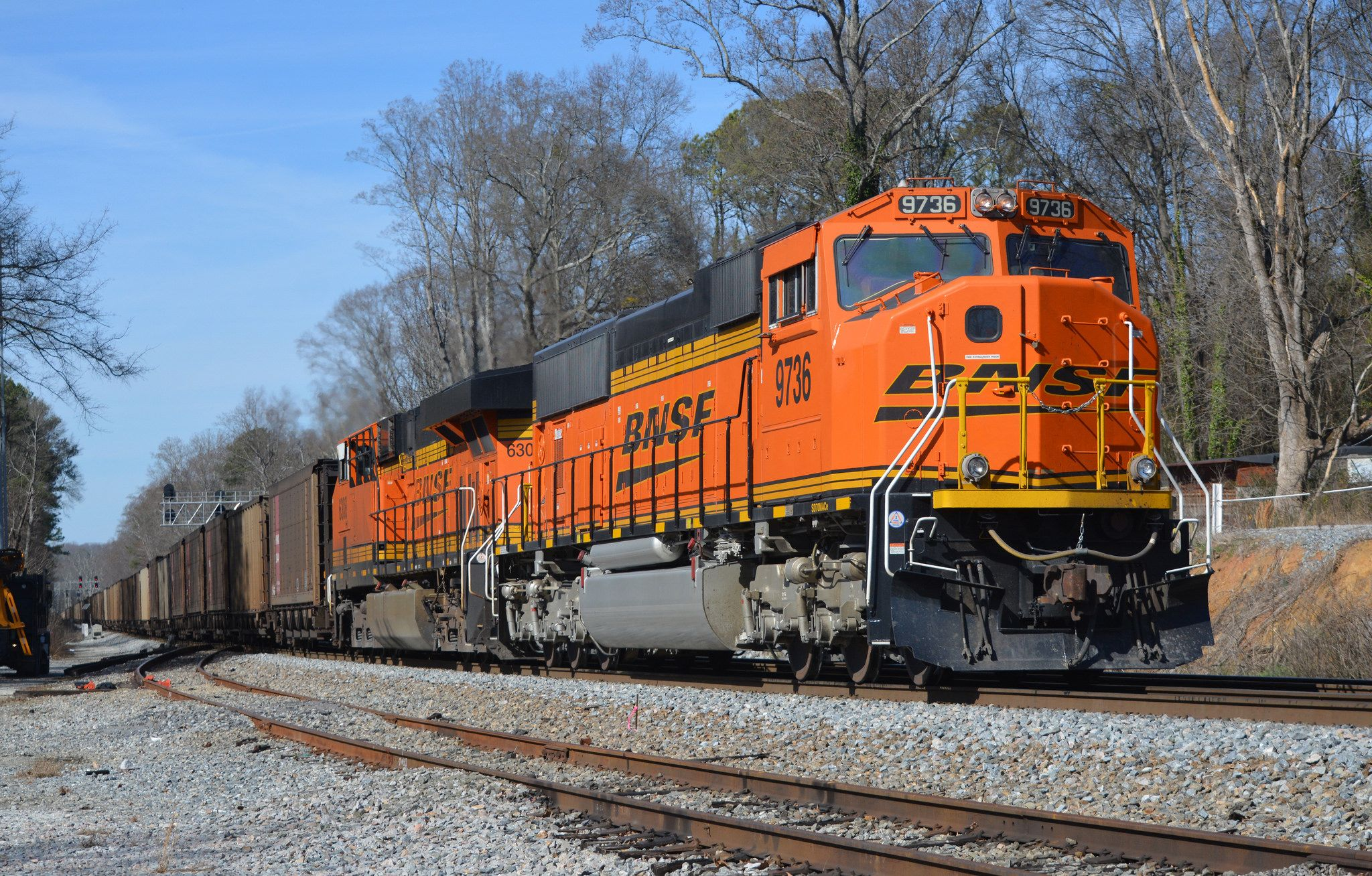 BNSF SD70MACe 9736-733 DPU Power | Railroads - BNSF - Burlington