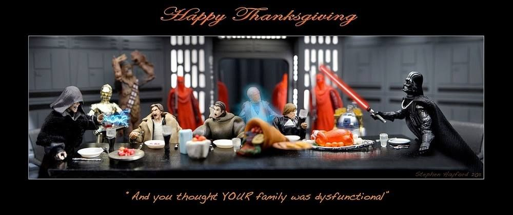 Star Wars Thanksgiving Star Wars Action Figures Star Wars Holiday Special Happy Thanksgiving
