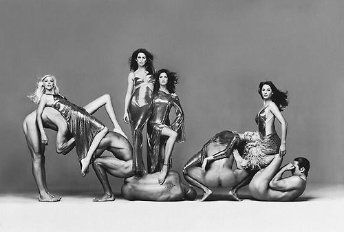 Versace Couture 1994 by Richard Avedon