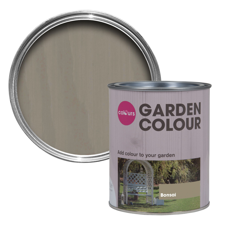 Fence paint colours garden bonsai matt woodstain 075l
