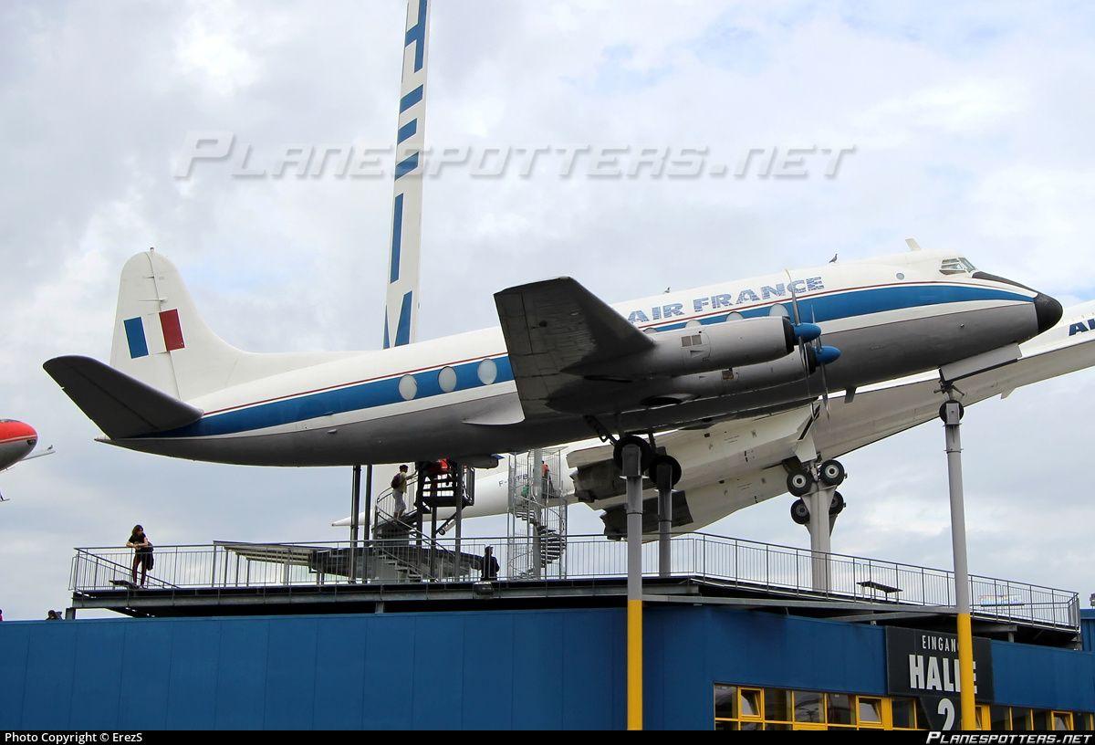 FBGNU Air France Vickers V.708 Viscount
