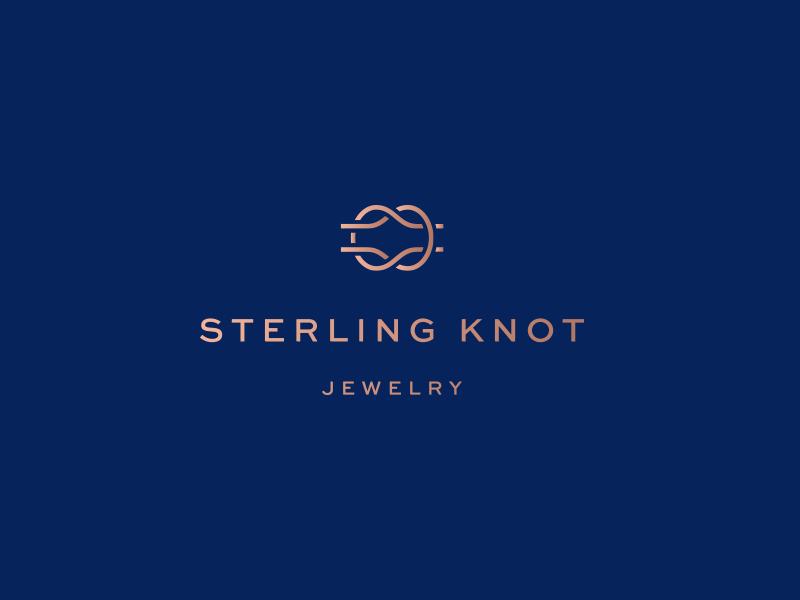 Sterling Knot Logo Knots Branding Design Logo Logos