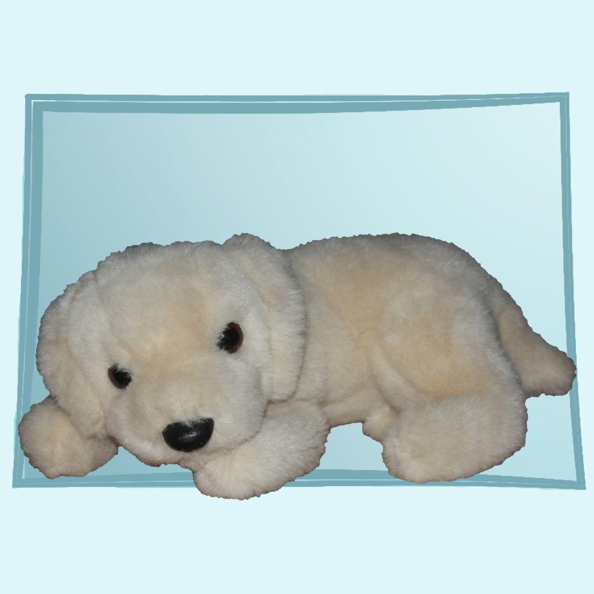 1995 Ty Classic Muffin the Puppy Dog Cream Plush Toy  27910c500645