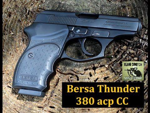 ▶ Bersa Thunder 380 CC Pistol - YouTube