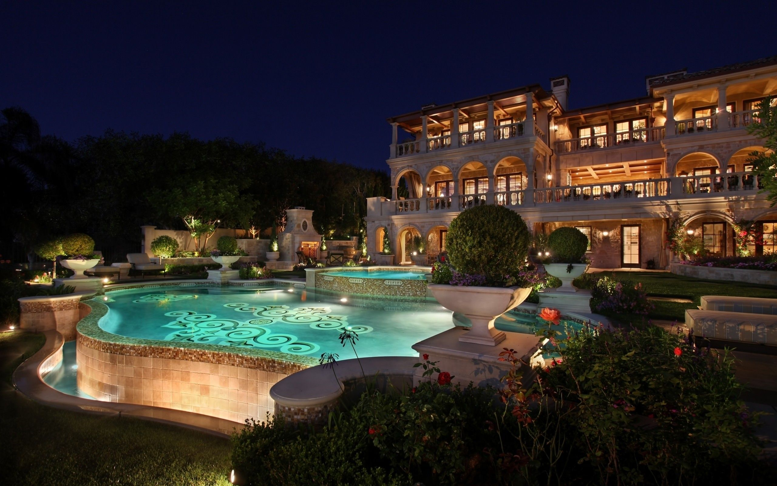 Mansion Houses With Pools dreamhouse <3 | random | pinterest | image resolution, house pools