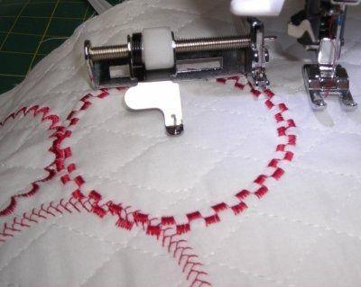 janome circular attachment | Sapatilha, Calcador, Guia De Costura Circular Singer.