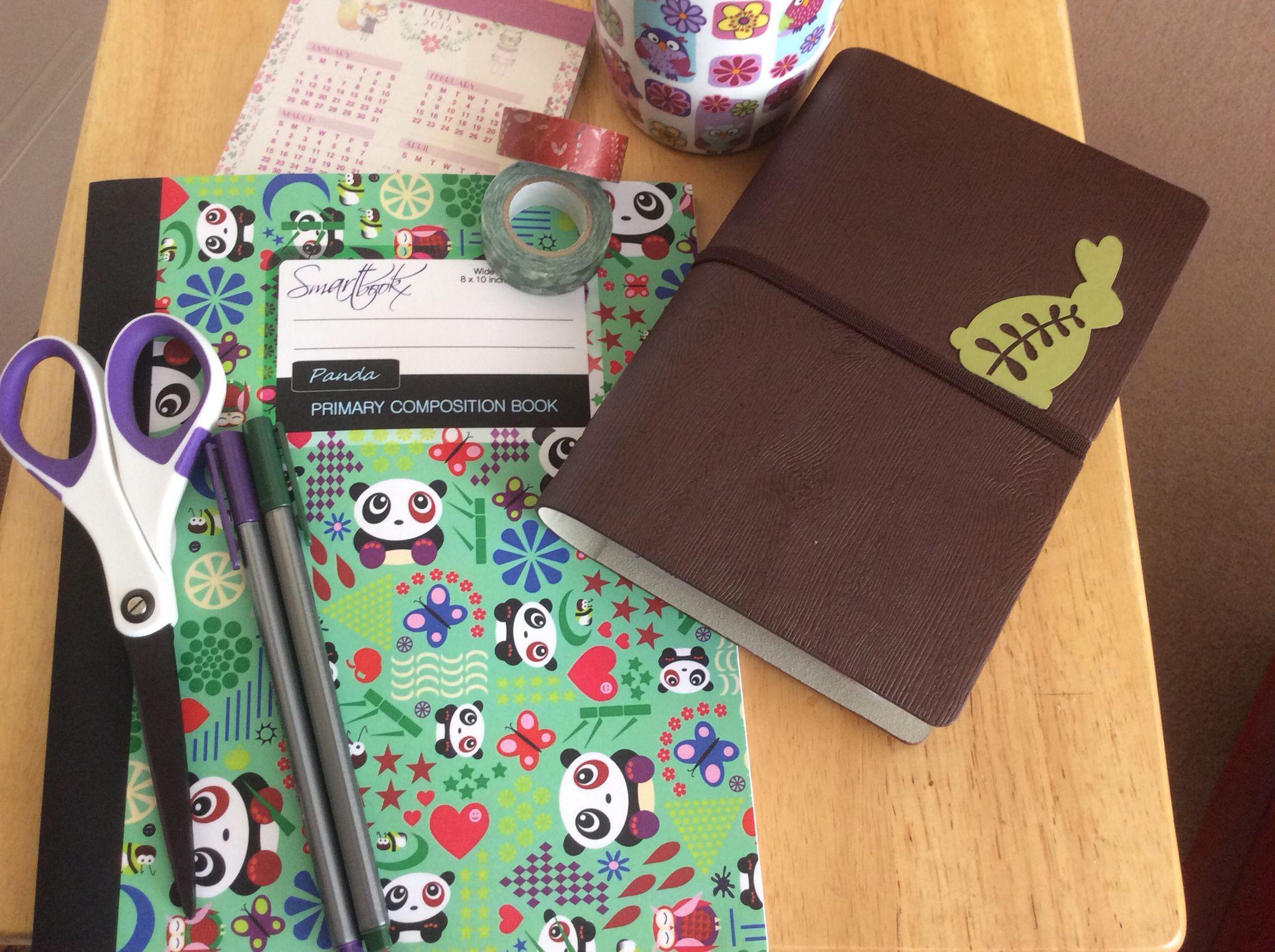 My Filofax and essentials..