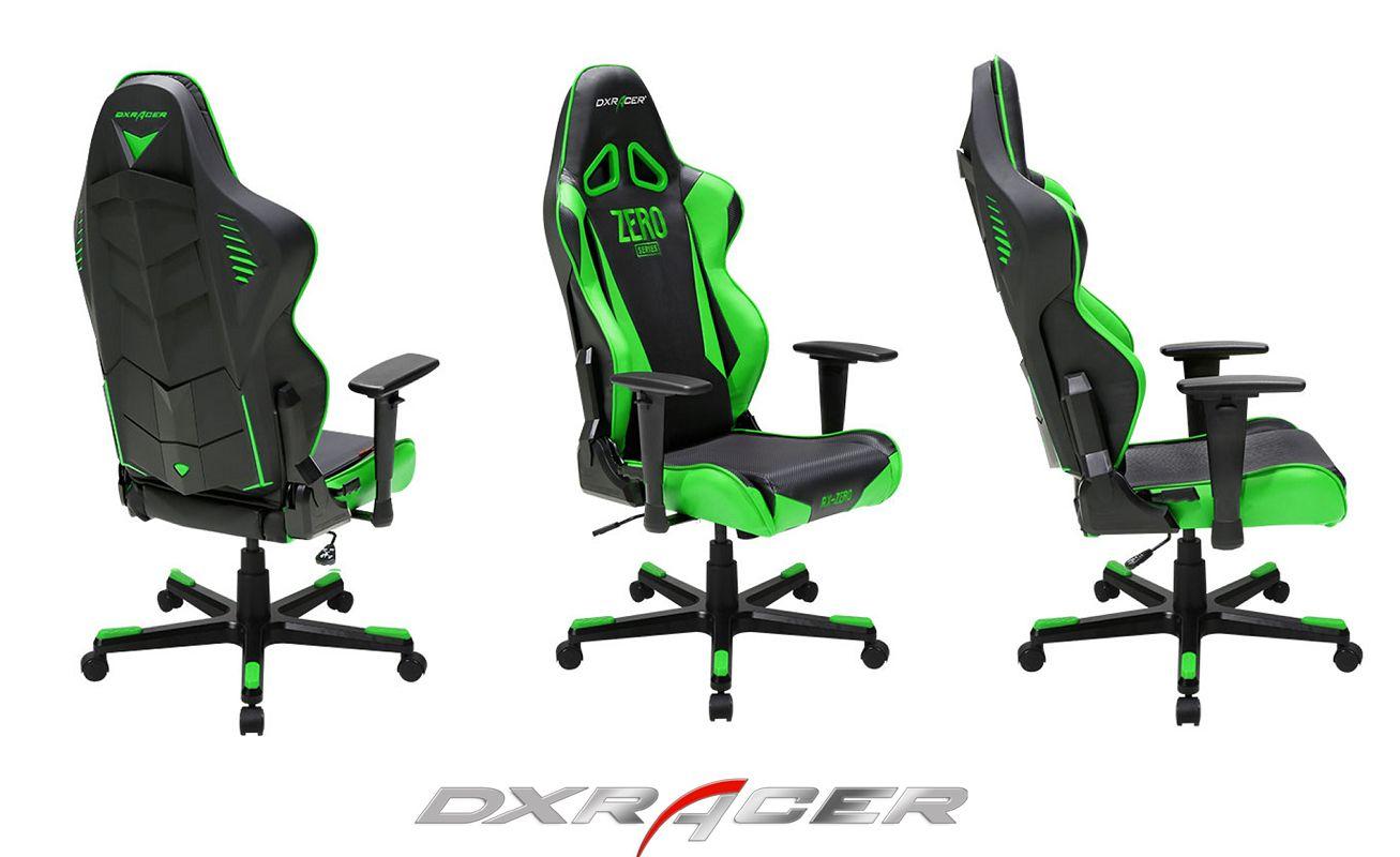 Dxracer Race Chair Rb1ne 399 Black And Green Petronas