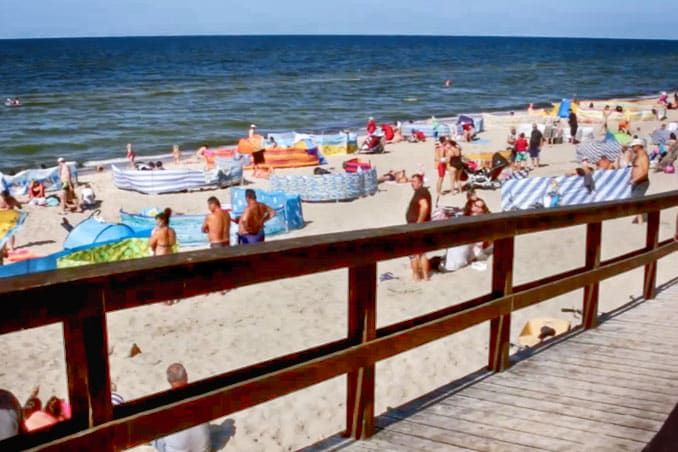 Urlaub in Wisełka (Wolin) Polnische Ostsee Ostsee